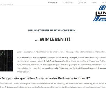 Seit heute online: Die neue Webseite der Firma Lunz!
